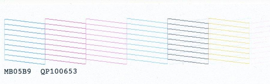 Как сделать тест дюз на epson